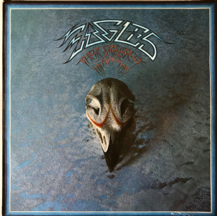 Eagles ‎- Their Greatest Hits 1971-1975 (LP) (VG-/G)